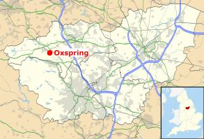 South Yorkshire UK location map